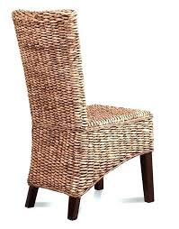 Modern Rattan Chair Dining Chairs Amusing Wicker Round Armchairs Mid
