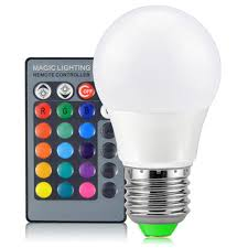 rgb led perfect mirror with light bulbs bulb call