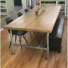 modern wood dining table with metal legs white dining table metal legs metal top round dining table chunky dining table