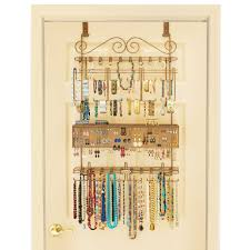 Jewelry Wall Organizer Bedroom Interesting Safety Storage Design With Over The Door