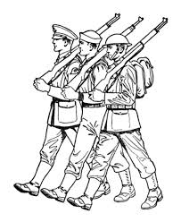 Small Picture An Army March Coloring Pages Bulk Color