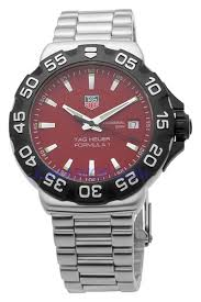 tag heuer formula one steel red mens watch tag heuer formula one steel red mens watch wah1112 ba0850