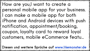 How Are Youi Want To Create A Personal Mobile App For Your Business