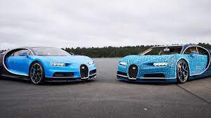 The lego technic is fitted with real bugatti wheels. Lego Nails Another Smart Marketing Opportunity With A Life Size Drivable Bugatti Chiron Car Inc Com