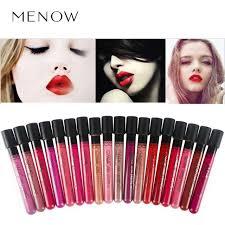 crazy promotion menow makeup matte velvet lip gloss long lasting shimmer matte liquid lipsticks whole