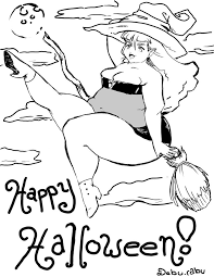 Small Picture Halloween Coloring Pages Letters 4 olegandreevme