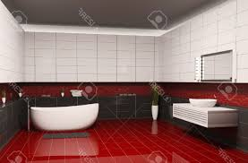Dark Red Bathroom Red Black And White Bathroom Decor Best Cool Black White And Red