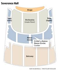 Playhouse Square Cleveland Seating Chart 78 Unusual Severence Hall Seating Chart