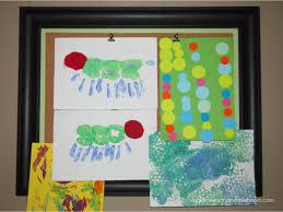 framed bulletin board complete with art makeoversandmotherhood com