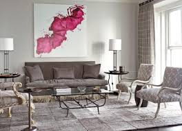 Pink Living Room Chairs Pink Living Room Furniture Black Polished Wooden Wall Corner