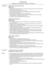 Director Of Engineering Resume Director Engineering Resume Samples Velvet Jobs 12