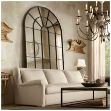 Restoration Hardware Living Room Design How To Decorate With Mirrors