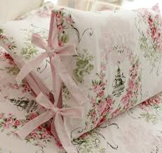Amazoncom FADFAY Rose Floral 4 Piece Bed Sheet Set 100 Cotton