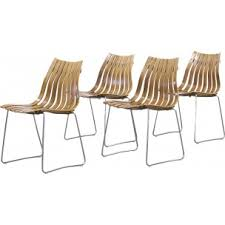 hans brattrud scandia chairs. set of 4 \ hans brattrud scandia chairs