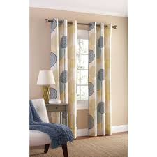 Walmart Curtains For Living Room Mainstays Hanging Medallion Grommet Curtain Panels Set Of 2 80