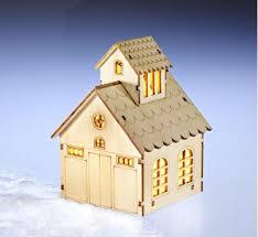 Led Holz Dorf Haus Weihnachten Winter Beleuchtung Fenster Deko Weihnachtsdeko
