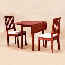 dark wood dining chairs. Dining Room: Red Cherry Wood Chairs With White Cushion_extended Table_white Dark