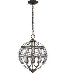 trans globe lighting 10473 ab adeline 3 light 13 inch antique brass chandelier ceiling light