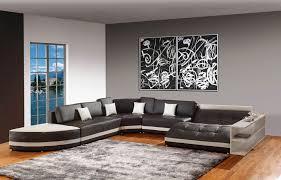 modern and sleek grey living room interior 7 modern