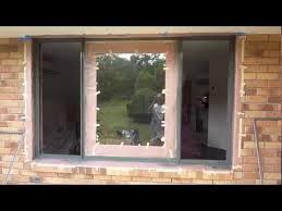 aluminium window spraying painting