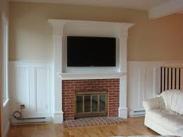 built in tv cabi over fireplace image collections norahbent