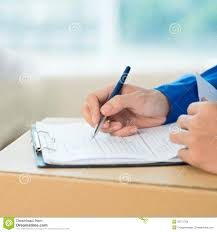 fill in the application form stock photo image  fill in the application form