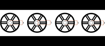 Ford Wheel Bolt Pattern Simple Wheel Bolt Pattern Guide Models Of Ford F48 Bolt Pattern