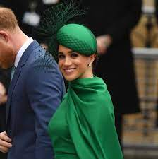 Meghan Markle Wears Green Emilia Wickstead Dress to Commonwealth Day