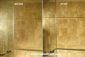 best way to clean shower cleaning soap s from glass shower doors remove hard water stains on shower doors best way clean showerhead with vinegar