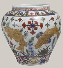 ming dynasty essay heilbrunn timeline of art jar carp in lotus pond