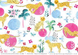 Surface Pattern Design Beauteous Video How To Make A Surface Pattern Design From Scratch Coco Gigi