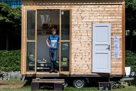 tiny houses. Architects, Refugees Team Up To Build Tiny Houses In Berlin