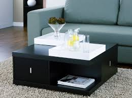 popular of modern square coffee table black storage with design 9