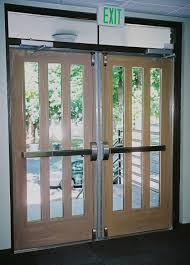 commercial front doorscommercial interior metal doors wood grained doors church metal