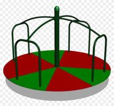 kids on playground clipart black and white free playground merry go round clipart