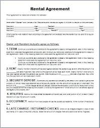 Parking Lease Template. Form For Rental Agreement Space Lease ...