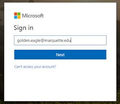 Office 365 Log In Log In To Office 365 Portal It Services Marquette University