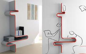 Creative Modern Shelving System