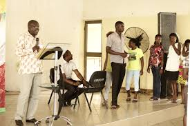 PHOTOS Sandra Ankobiah educates first time voters at Ho Technical.