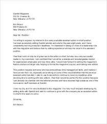 Letter Of Interest For A Job Everything Of Letter Sample