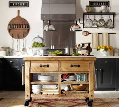 Pottery Barn Kitchen A Kitchen Thats On A Roll Kitchens Pinterest Islands