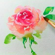 how to watercolor flowers best 25 watercolor rose ideas on painting flowers wesley berry flowers
