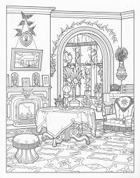 Victorian House Coloring Pages For Grown