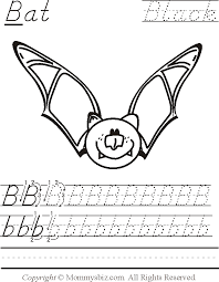 Mommysbiz | B-Bat-Black Preschool Worksheet by DanaHaynes ...