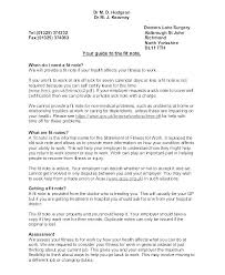 Doctors Note For Sick Leave Template Nosugarcoating Info