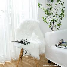 leevan faux fur rug supersoft plush fluffy chair cover sheepskin rug seat cover gy throw floor mat carpet accent