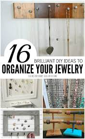 need a stylish and functional necklace organizer to all your pretty jewelry you can