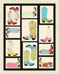 Cowboy Boot Quilt Pattern #2 Western Quilt Pattern   Defilenidees.com & ... Cowboy Boot Quilt Pattern #9 Free Pattern = Cowboy Boots Quilt, ... Adamdwight.com