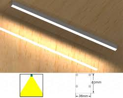 24w48w high brightness led linear light surface mounted ceiling light specifications