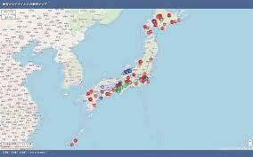 新型 コロナ ウイルス 感染 マップ